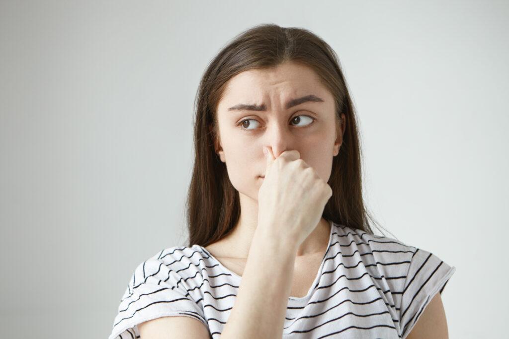 Slechte ruikt vervelend voor anderen